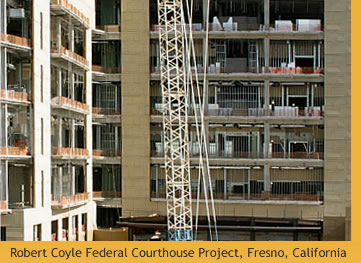 Robert Coyle Federal Courthouse Project. Fresno, California