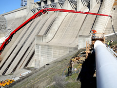 US Bureau of Reclamation Folsom Dam Bifurcation Project
